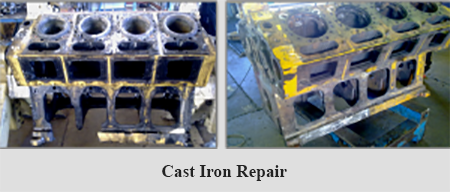 Cast Iron repair-lincoln
